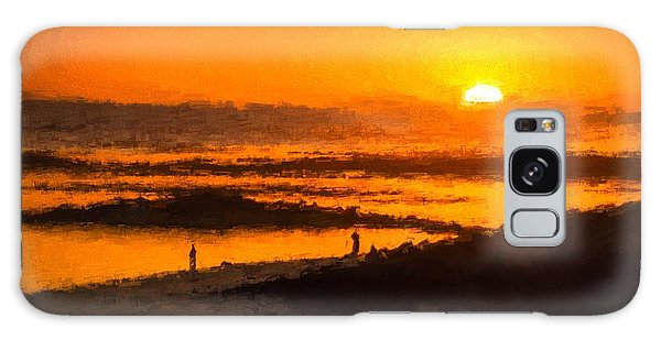 Fairy Pools Galaxy S8 Case - South Beach Sunset    Rvr by Ray Warren