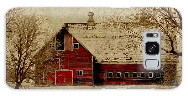 South Dakota Barn Galaxy Case
