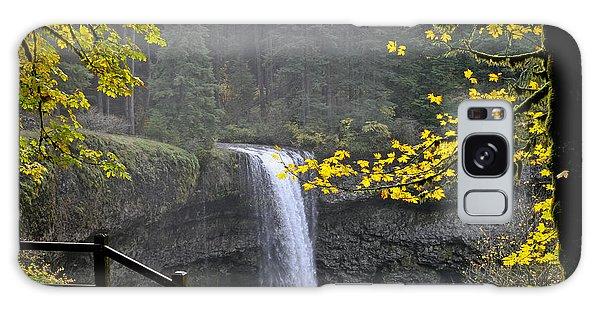South Falls Of Silver Creek Galaxy Case