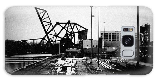 Galaxy Case featuring the photograph South Loop Railroad Bridge by Kyle Hanson