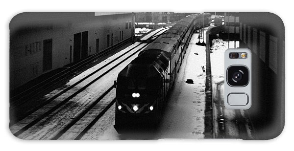 Galaxy Case featuring the photograph South Loop Railroad by Kyle Hanson
