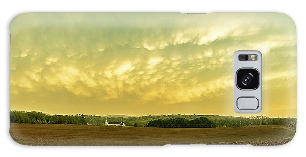 Thunder Storm Over A Pennsylvania Farm Galaxy Case