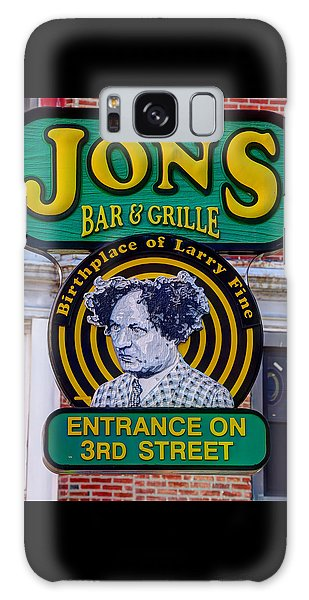South Philly Skyline - Birthplace Of Larry Fine Near Jon's Bar And Grille-a - Third And South Street Galaxy Case