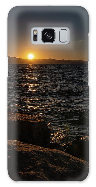 South Shore Sunset Galaxy Case