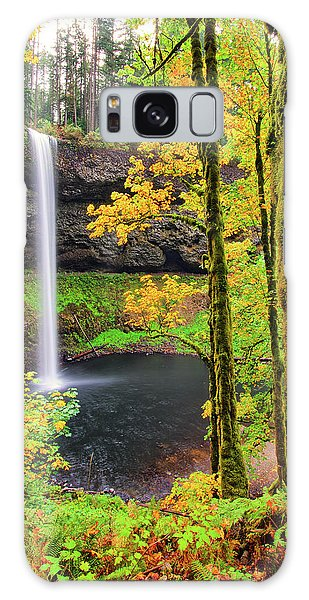 South Silver Falls Galaxy Case