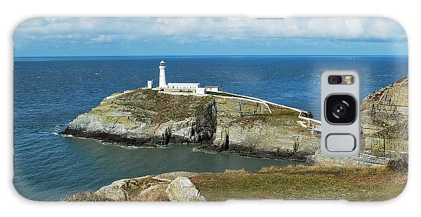 South Stack Light House Galaxy Case