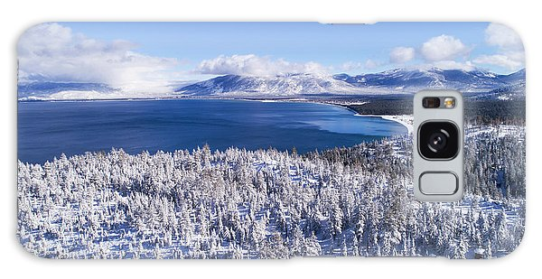 South Tahoe Winter Aerial By Brad Scott Galaxy Case