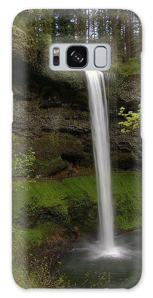 South Waterfalls Galaxy Case by Jerry Cahill