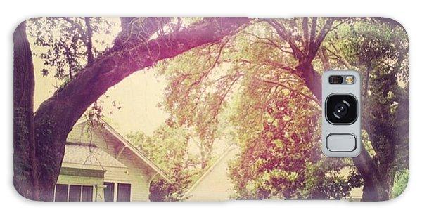 House Galaxy Case - Southern Home #house  #coastalbeauty by Joan McCool