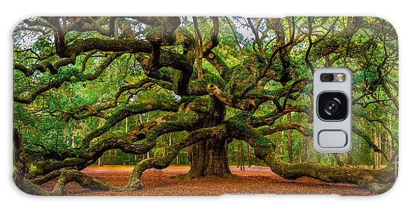 Angel Oak In Charleston Galaxy Case