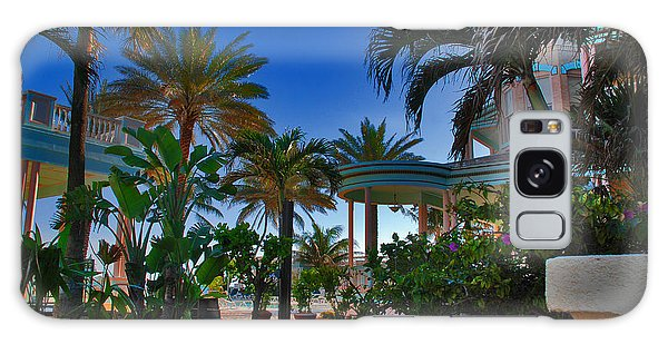 Southernmost Lush Garden In Key West Galaxy Case