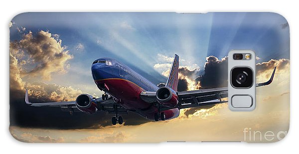 Southwest Dramatic Rays Of Light Galaxy Case