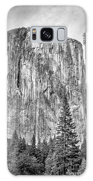 Southwest Face Of El Capitan From Yosemite Valley Galaxy Case