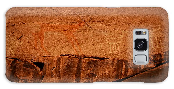 Southwest Rock Art Galaxy Case