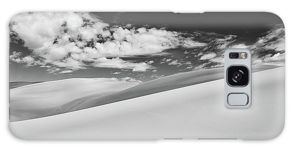 Southwest Sands Of Colorado In Black And White Galaxy Case