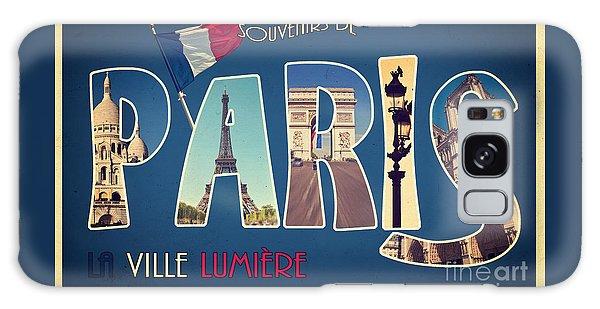 Travel Galaxy Case - Souvernirs De Paris by Delphimages Photo Creations