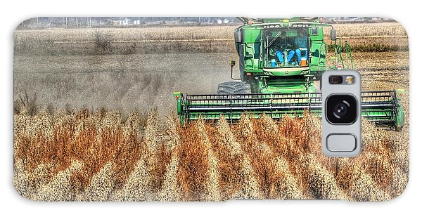 Soybean Harvest Fremont County Iowa Galaxy Case