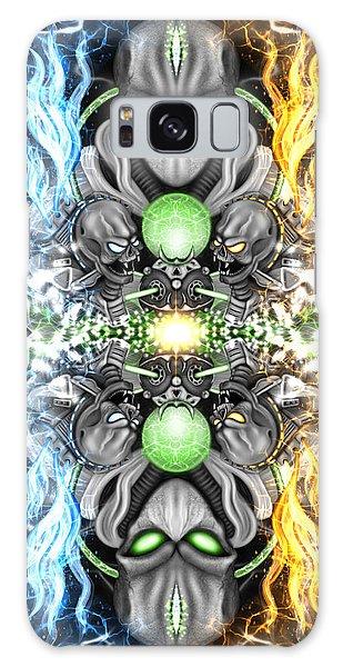 Space Alien Time Machine Fantasy Art Galaxy Case