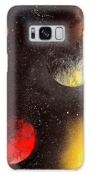Space Balls Galaxy Case
