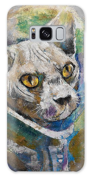 Astronauts Galaxy S8 Case - Space Cat by Michael Creese