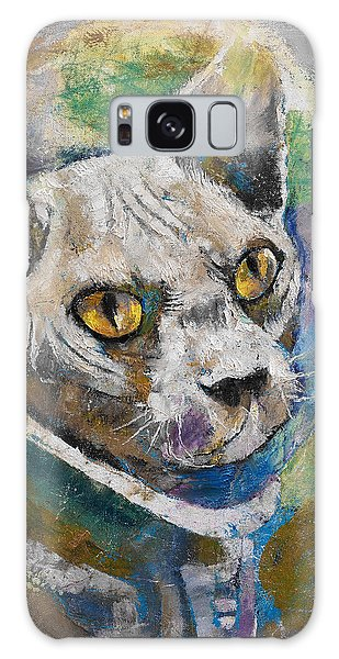 Astronaut Galaxy Case - Space Cat by Michael Creese