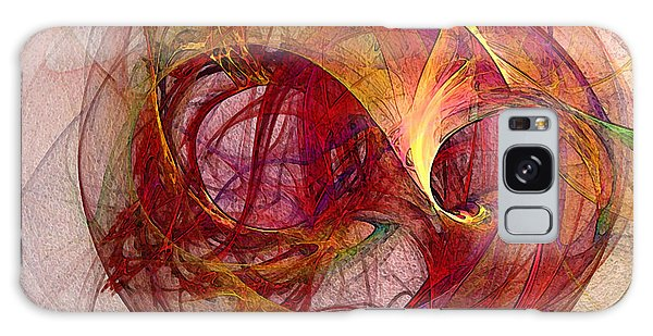 Space Demand Abstract Art Galaxy Case