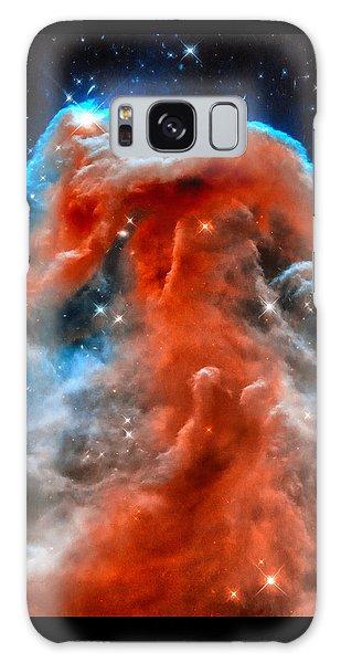 Space Image Horsehead Nebula Orange Red Blue Black Galaxy Case