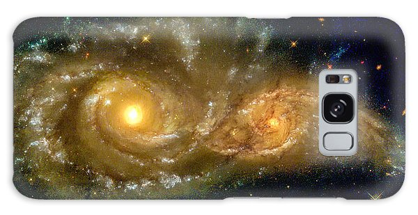 Space Image Spiral Galaxy Encounter Galaxy Case
