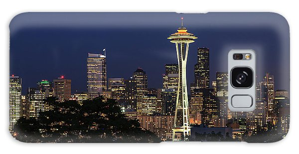 Space Needle Galaxy Case by David Chandler