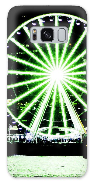 Space Needle Ferris Wheel Galaxy Case