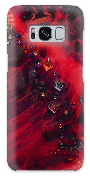 Space Poppies Galaxy Case