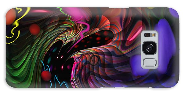 Space Rocks Galaxy Case by Kevin Caudill