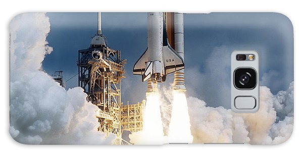 Space Shuttle Launching Galaxy Case