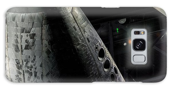 Space Shuttle Nose  Galaxy Case by David Collins