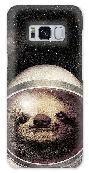Galaxy Galaxy Case - Space Sloth by Eric Fan
