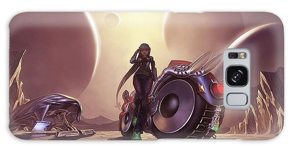 Space The Final Frontier Galaxy Case by Lawrence Christopher