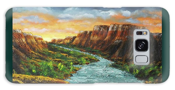 Spanish Broom Canyons Sunset 3of5 Galaxy Case