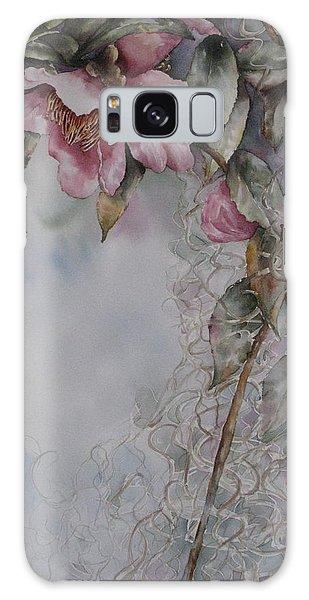 Spanish Camellias Galaxy Case