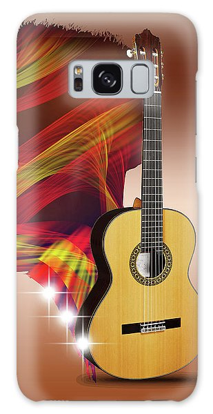 Spanish Guitar Galaxy Case