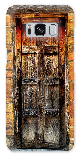 Spanish Mission Door Galaxy Case