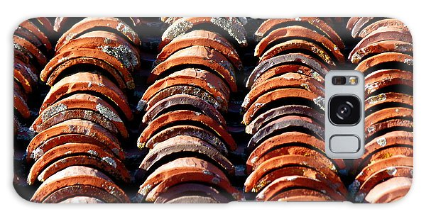 Spanish Roof Tiles Galaxy Case