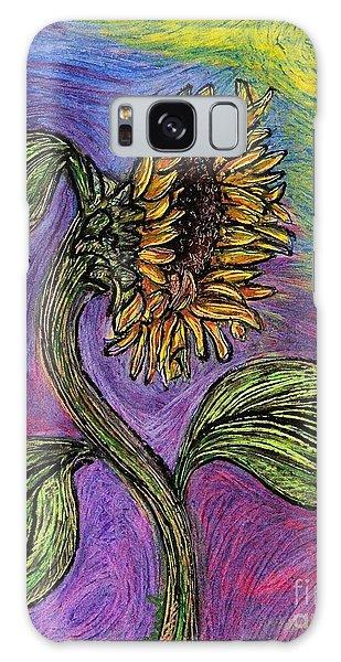 Spanish Sunflower Galaxy Case