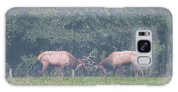Sparking Elk On A Foggy Morning - 1957 Galaxy Case