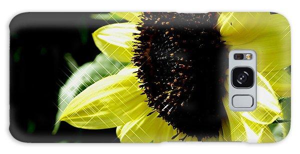 Sparkle Sunflower Galaxy Case