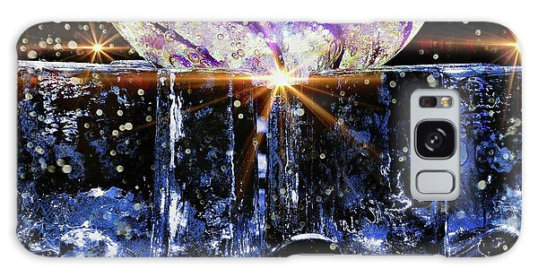 Sparkling Glass Galaxy Case