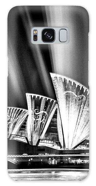 Jewels Galaxy Case - Sparkling Blades Bw by Az Jackson