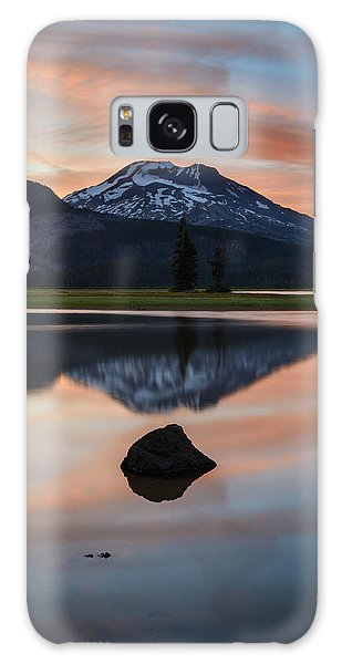 Sparks Lake At Sunset Galaxy Case