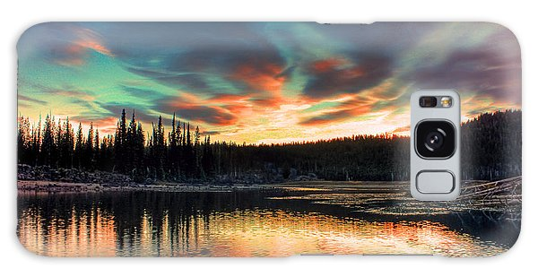 Sparks Lake Hues Galaxy Case