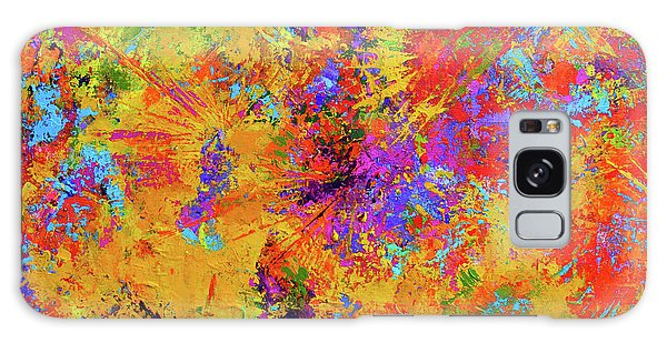 Sparks Of Consciousness Modern Abstract Painting Galaxy Case