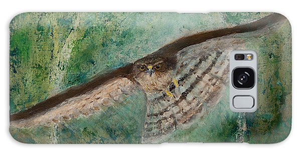 Sparrowhawk Hunting Galaxy Case